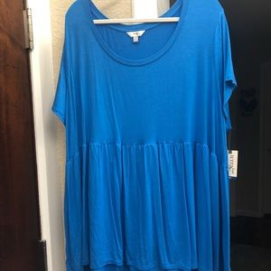 NWT Babydoll style top